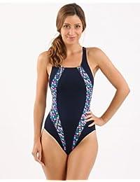 3637971295 Maru Zazou Pacer Panel Vault Back Ladies Swimsuit