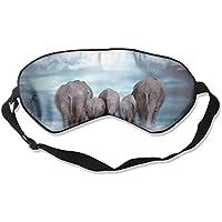 Sleep Eye Mask Elephant Walking Lightweight Soft Blindfold Adjustable Head Strap Eyeshade Travel Eyepatch E3 preisvergleich bei billige-tabletten.eu