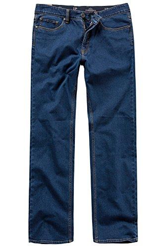 JP 1880 Herren große Größen bis 66, Jeans, Denim-Hose im 5-Pocket-Style, Stretch-Komfort, elastischer Bund & Regular Fit Blue Stone 62 708067 91-62