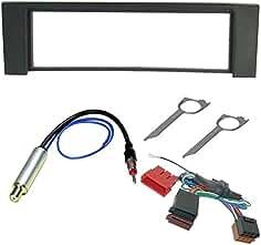 Kit montaje radio marco embellecedor de radio 1 DIN Audi A3/A6/Seat Toledo