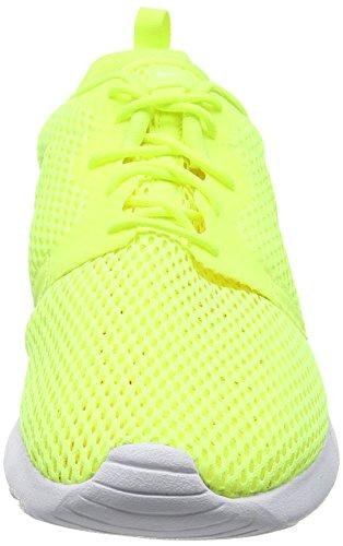 Nike Roshe One Hyperfuse Br, Scarpe Da Corsa Uomo Giallo (Volt/Volt/White)