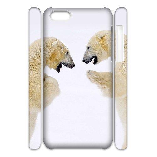 LP-LG Phone Case Of Polar Bear For Iphone 4/4s [Pattern-6] Pattern-5