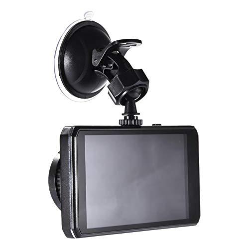 luckything - Videocamera per Auto Full HD 1080P, Full HD, DVR, Schermo LCD da 4,5', grandangolo 170°, sensore G, WDR, Monitor di parcheggio, Registrazione Loop, rilevamento Movimento