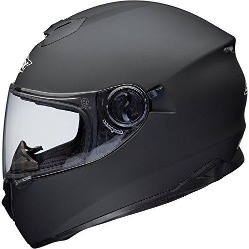 Shox Assault Integral Motorrad Helm L Matt Schwarz