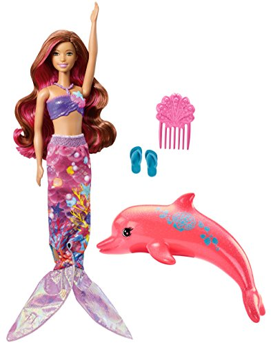 Mattel Barbie FBD64 Magie der Delfine Meerjungfrau