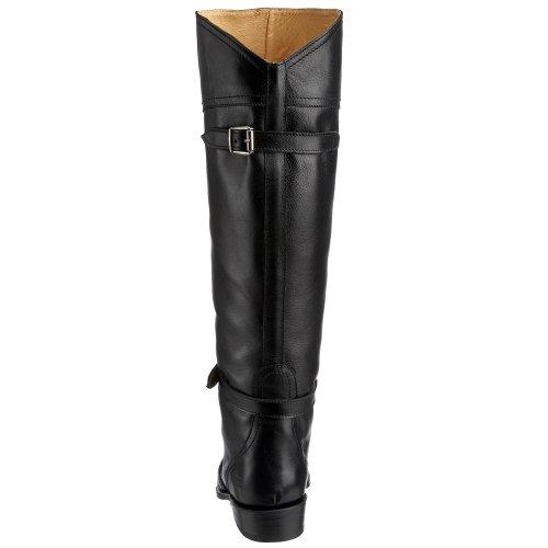 Frye  Dorado , Bottes femmes Black Full Grain-77560