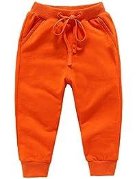 Ruth Wang Bambini Tinta Unita Scuola di Pantaloni Lunghi Baby Jogging Tuta  Pantaloni b4e0c8649313