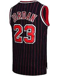 MTBD NBA Michael Jordan, NO.23 Bulls Retro, Camiseta de Jugador de básquetbol