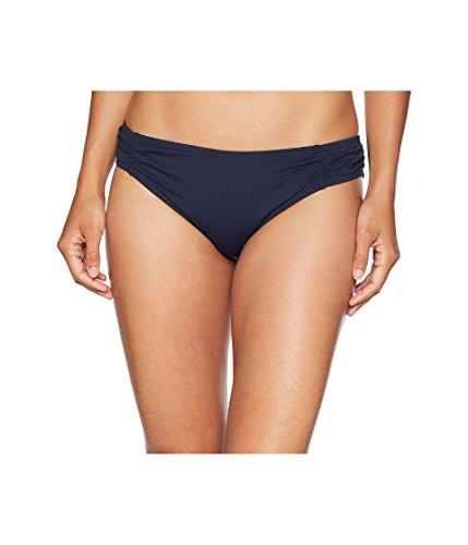 Michael Kors Damen Bikinihose Solids Side Shirred - blau - X-Small