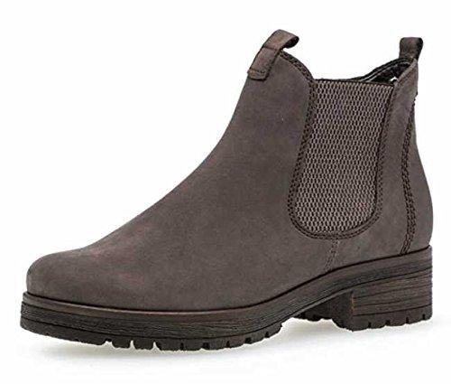 Gabor Damen Chelsea Boots 92.091,Frauen Stiefel,Halbstiefel,Stiefelette,Bootie,Schlupfstiefel,Hoch,Blockabsatz 2.5cm,Einlegesohle,G Weite (Normal),Vulcano (Micro),UK 3.5