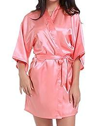 Amazon.es: Despedida de soltera - Rojo / Batas y kimonos / Ropa de dormir: Ropa