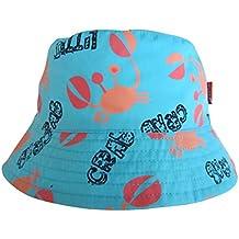 95cbff6a03ff Sumolux Bonnet Chapeau de Soleil Chapeau de Plage Anti UV en Coton Motif de  Cartoon Animal