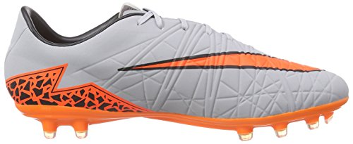 NikeHypervenom Phatal II Firm-Ground - Scarpe da Calcio Uomo Multicolore (Mehrfarbig (Wolf Grey/Total Orange/Black/Black))