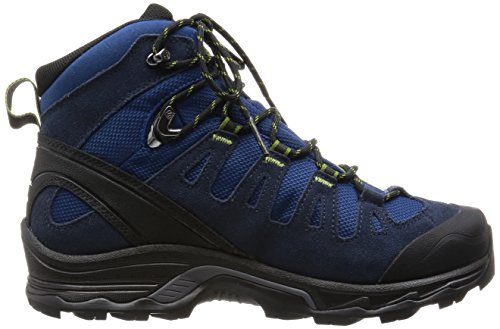 Salomon Quest Prime Gtx, Scarpe da Arrampicata Uomo Blu (Midnight Blue/Deep Blue/Turf Green)