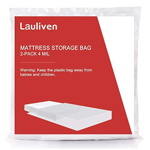 Matratzentasche für Umzug, Lagerung und Entsorgung, 4 mm, strapazierfähig, 2 Stück 1 - Twin XL -