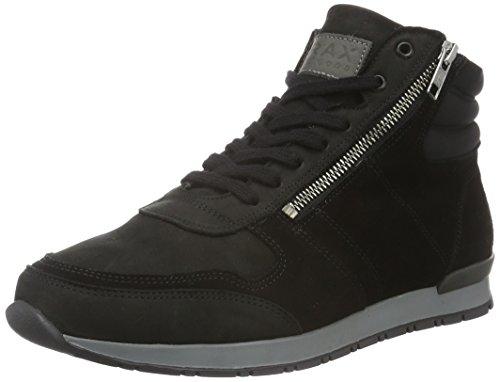 Brax Jonio Sneaker 2, Baskets Basses Homme Noir - Noir