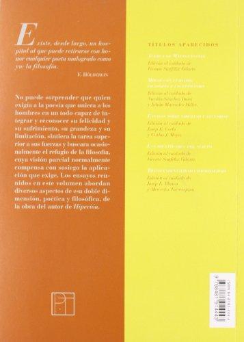 Hölderlin. Poesía y pensamiento (Títulos en coedición y fuera de colección)