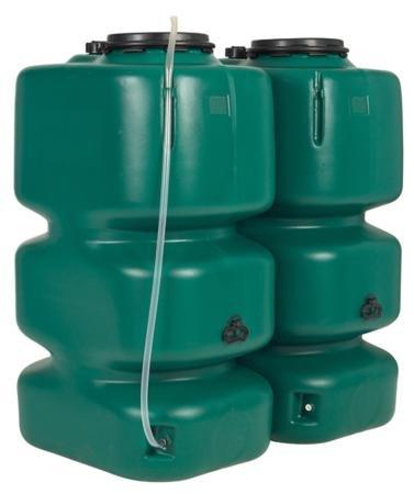"Gartentank Set* ""Basic Line"", 2000 l, grün"