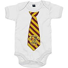 Body bebé Harry Potter corbata Hogwarts Gryffindor