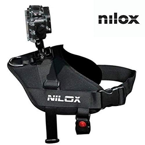 Nilox Cintura da Trasporto per Action Cam, Nero