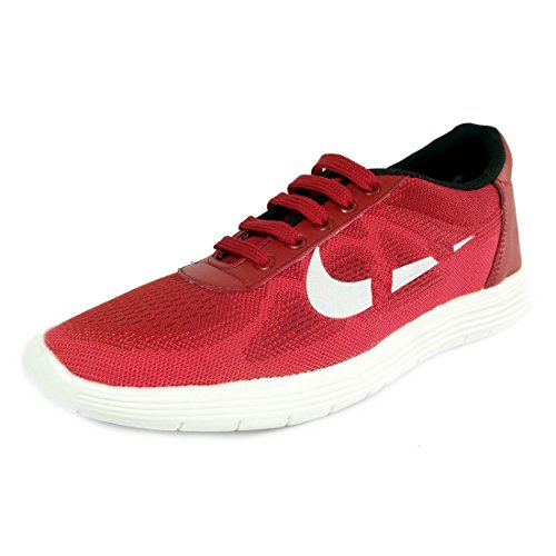 Prayog Red Nyke Sports Running Shoes