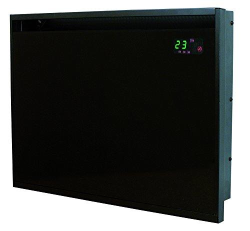 Drexon 839100Konvektor Wandmontage Glas 1000W schwarz