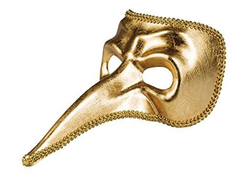 ske Venice Naso Gold, One Size (Maskerade-party-ideen Für Erwachsene)