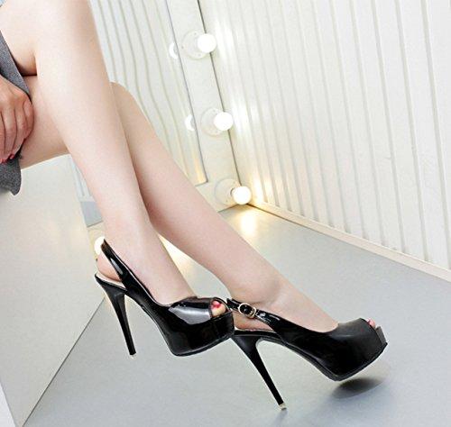 XTIAN - Sandali Donna Nero