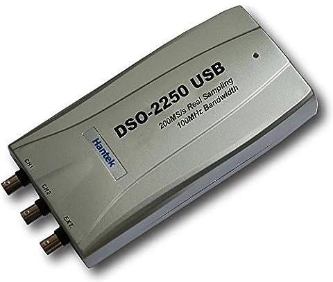 (Expédié à partir de la Chine) Hantek dso22502canaux 250MSA/S 100MHz Oscilloscope USB PC - Campione Cina