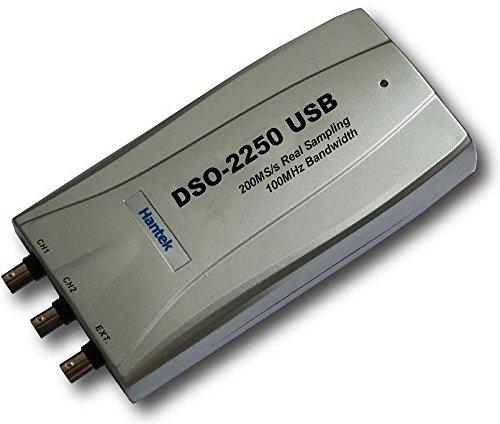 (ENVIO DESDE CHINA) HANTEK DSO22502CH 100MHZ 250MSA/S PC USB OSCILOSCOPIO