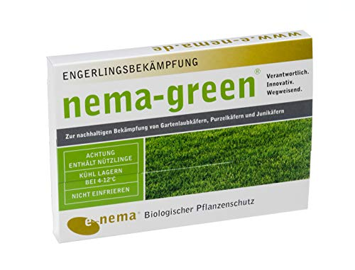 Nema-Green HB Nematoden zur Bekämpfung des Gartenlaubkäfers 25 Mio für 50qm