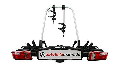 Uebler 15760 Anhängerkupplungsträger X21-S für 2 Fahrräder