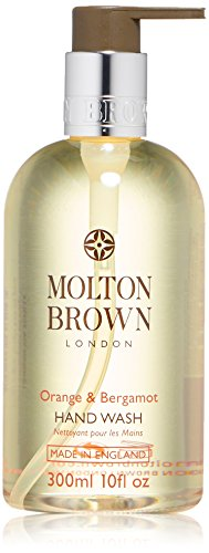 Haut Die Orange Blossom (Molton Brown Orange & Bergamot Hand Wash, Flüssigseife, 1er Pack (1 x 300 ml))