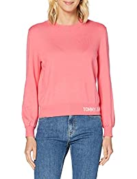Tommy Hilfiger Tjw Fine Crew Neck Sweater Suéter para Mujer