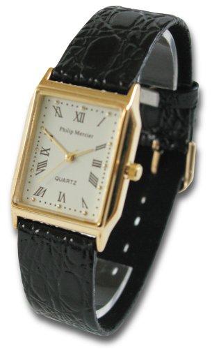 Philip Mercier SML11/A - Reloj de mujer de cuarzo (japonés), correa de piel