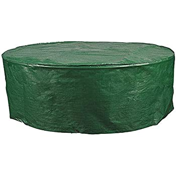 Holistar Schutzhaube Tisch Oval Schutzhulle Gartenmobel Pe