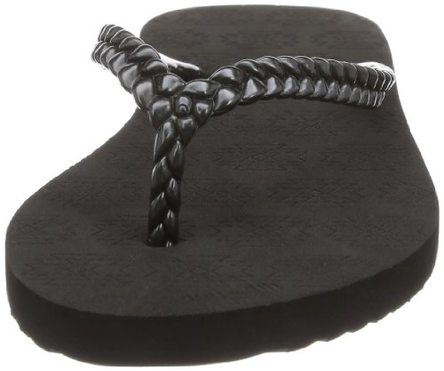 flip*flop Slim Kilim, Tongs femme Noir (000 Black)