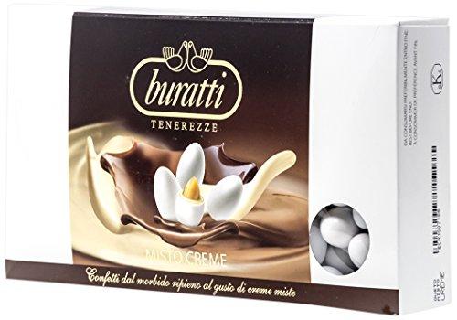 1 Kg di confetti Buratti al gusto di Nut Cream
