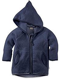 hessnatur Leichte Outdoor Fleece Jacke - reine Bio Baumwolle Organic Cotton - Unisex GOTS