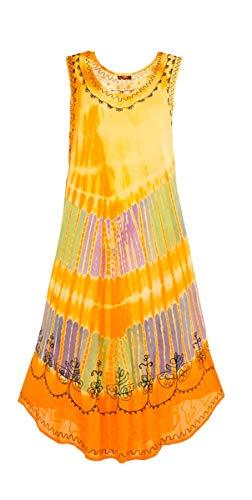 ee775e996 Coline Krawatte und Dye Regenschirmkleid (Orange, One Size)