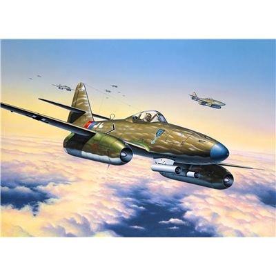 72 Pinzette (Revell Modellbausatz Flugzeug 1:72 - Messerschmitt Me262 A1a im Maßstab 1:72, Level 4, originalgetreue Nachbildung mit vielen Details, 04166)