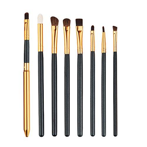 Vi.yo 8 Pcs maquillage pinceau ensemble fard à paupières sourcils pinceaux outil pour les yeux (style 2)