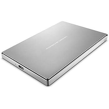 LaCie Porsche Design - Disco duro externo portátil para Mac y PC 2 TB (USB 3.1 Type-C, 2.5')