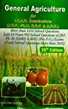 Genral Agriculture for ICAR Examination 25th Edition