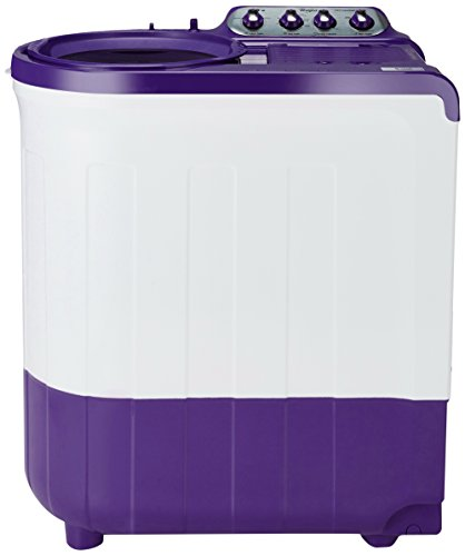 Whirlpool 7.5 kg Semi-Automatic Top Loading Washing Machine (ACE SUPER SOAK 7.5, Coral Purple, Supersoak Technology)