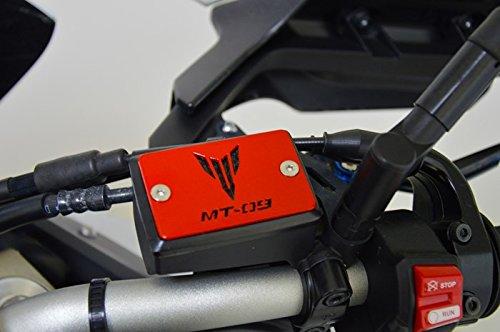 Copri tappo vaschetta olio freno per Yamaha MT-09/Tracer (rosso)