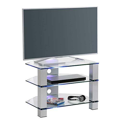 fernsehmoebel glas Pharao24 Fernsehmöbel aus Sicherheitsglas Metall Ohne Beleuchtung Energieeffizienzklasse