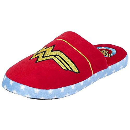 Ufficiale Womens DC Comics Wonder Slip donna Logo Design mulo pantofole - notizie