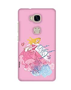 Pick Pattern with Exclusive DISNEY Characters Back Cover for Huawei Honor 5X