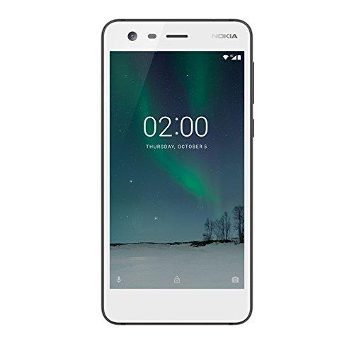Nokia 2 Smartphone da 8 Gb, Dual SIM, Bianco